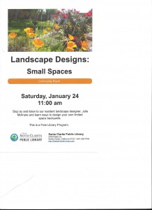 Small Spaces Flyer