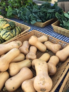 Farmer's Market - Squash and Greens